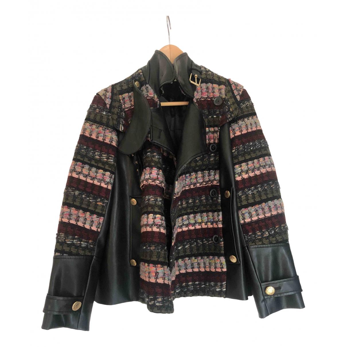 Mayle - Veste   pour femme en laine - multicolore