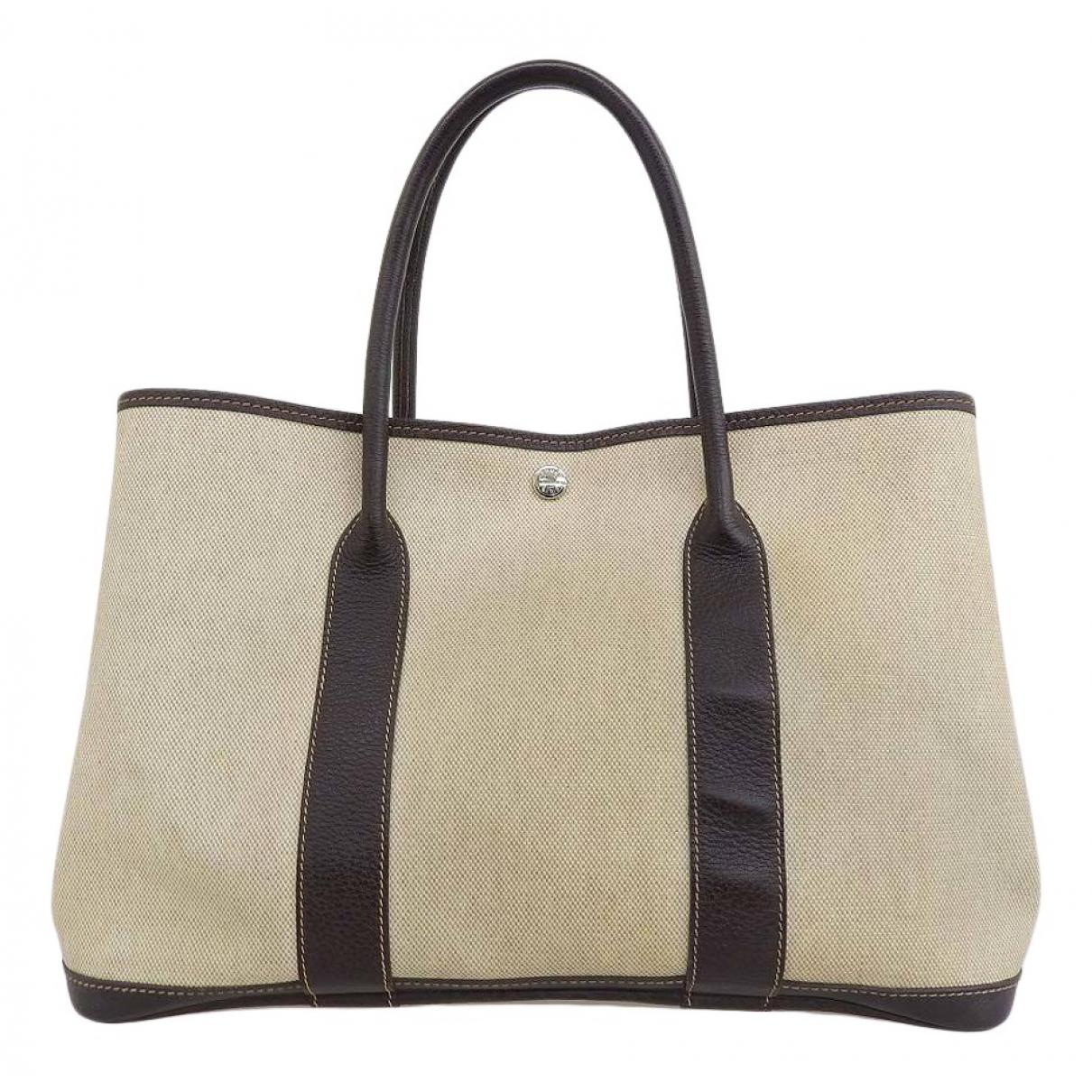 Hermès Garden Party Multicolour Cloth handbag for Women N