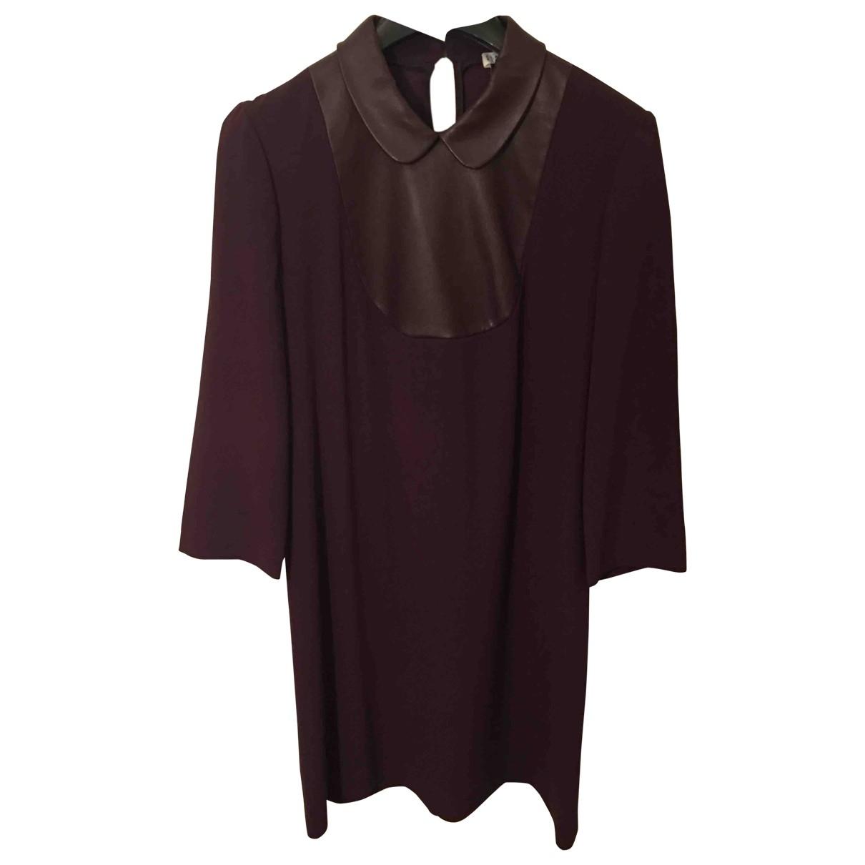Claudie Pierlot \N Burgundy dress for Women 38 FR