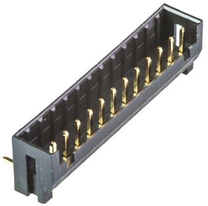 Hirose , DF3, 12 Way, 1 Row, Right Angle PCB Header (5)