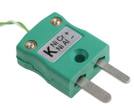 RS PRO Type K Thermocouple 2m Length, 1/0.2mm Diameter → +250°C