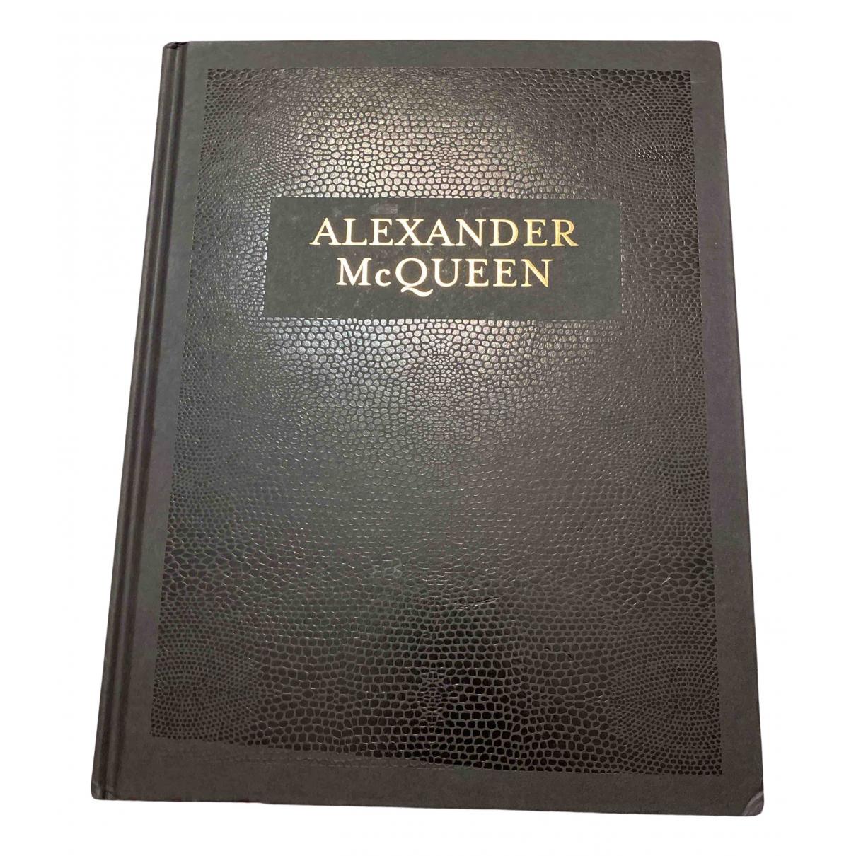 Alexander Mcqueen N Black Cotton Fashion for Life & Living N