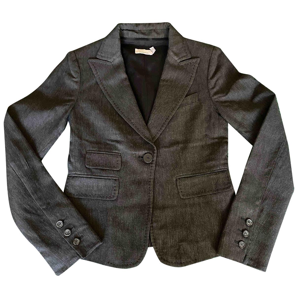 Pinko - Veste   pour femme en coton - marron