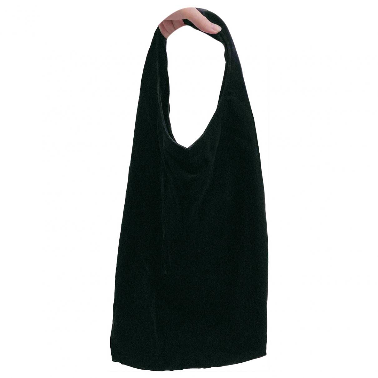 Yohji Yamamoto \N Black Velvet handbag for Women \N