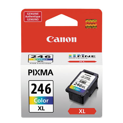 Canon CL246XL Original Color Ink Cartridge, High Yield