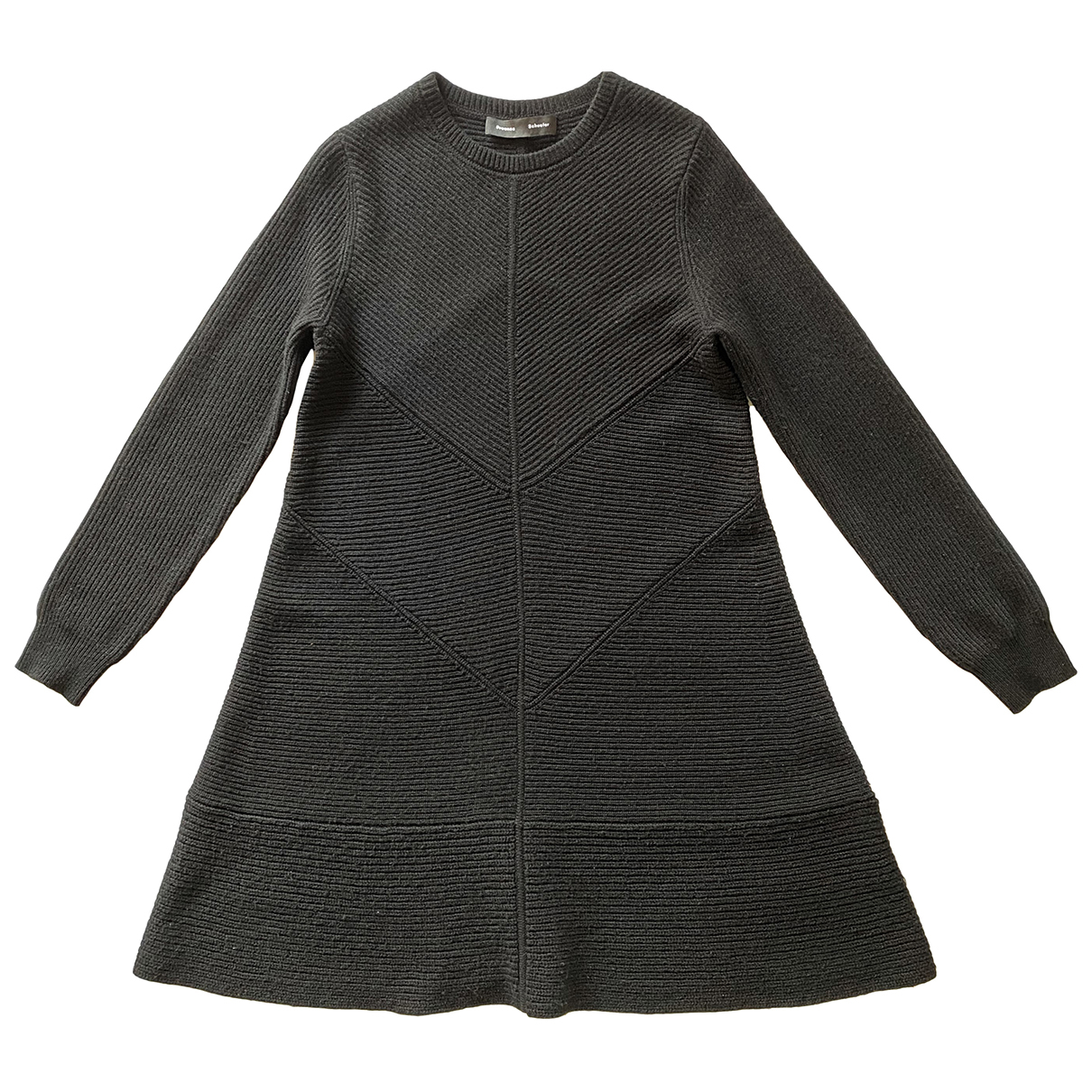 Proenza Schouler \N Kleid in  Schwarz Wolle