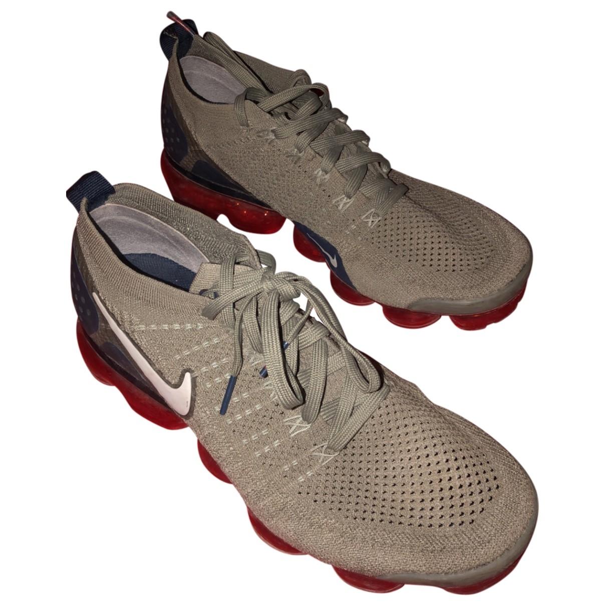 Nike Air VaporMax Grey Cloth Trainers for Men 43 EU