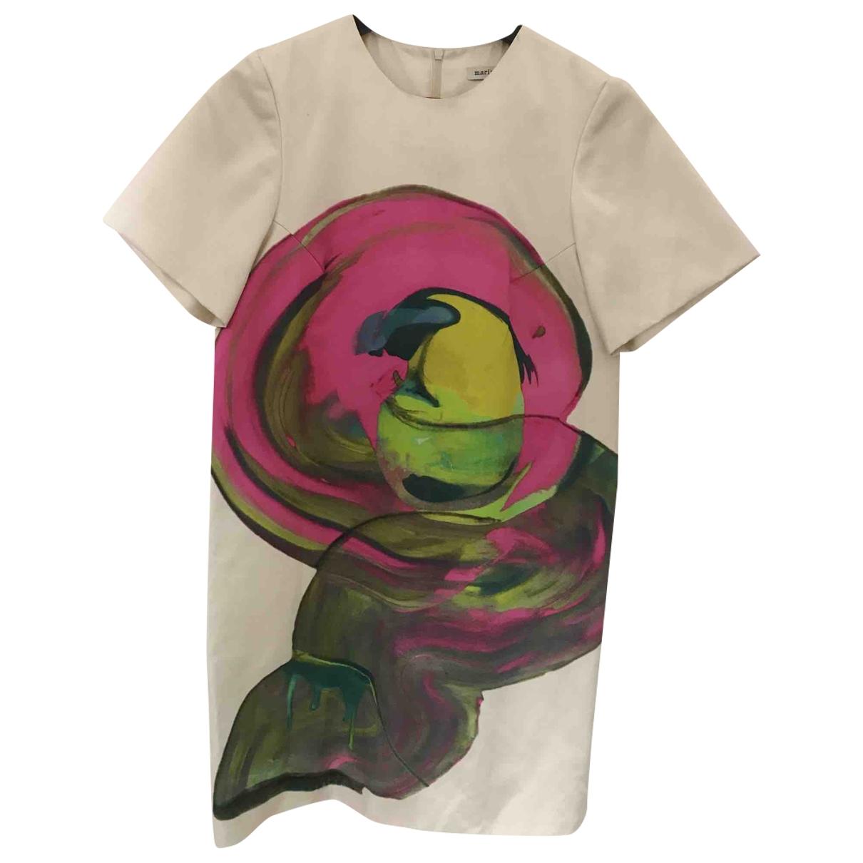 Marimekko - Robe   pour femme en soie - multicolore