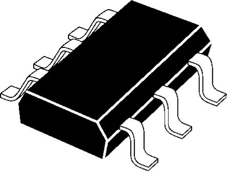 ON Semiconductor SZESD1L001W1T2G, Dual-Element Uni-Directional ESD Protection Diode, 6-Pin SC-88 (3000)