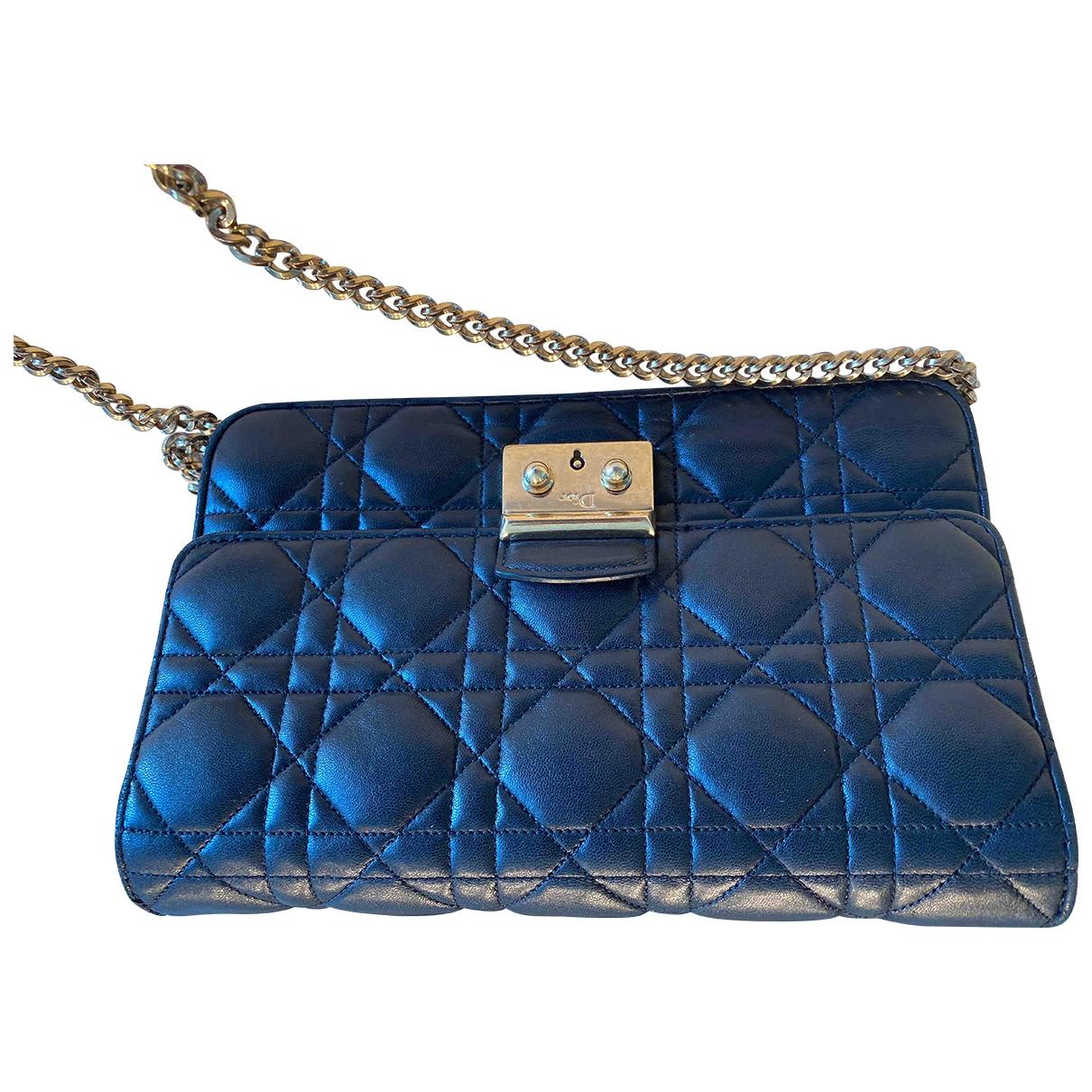 Dior - Sac a main Miss Dior pour femme en cuir - noir
