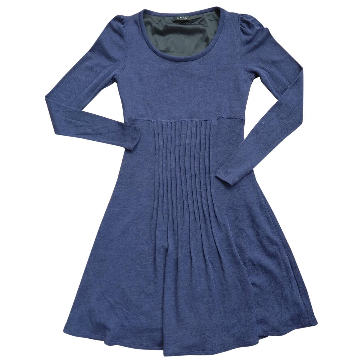 Max & Co - Robe   pour femme en laine - violet