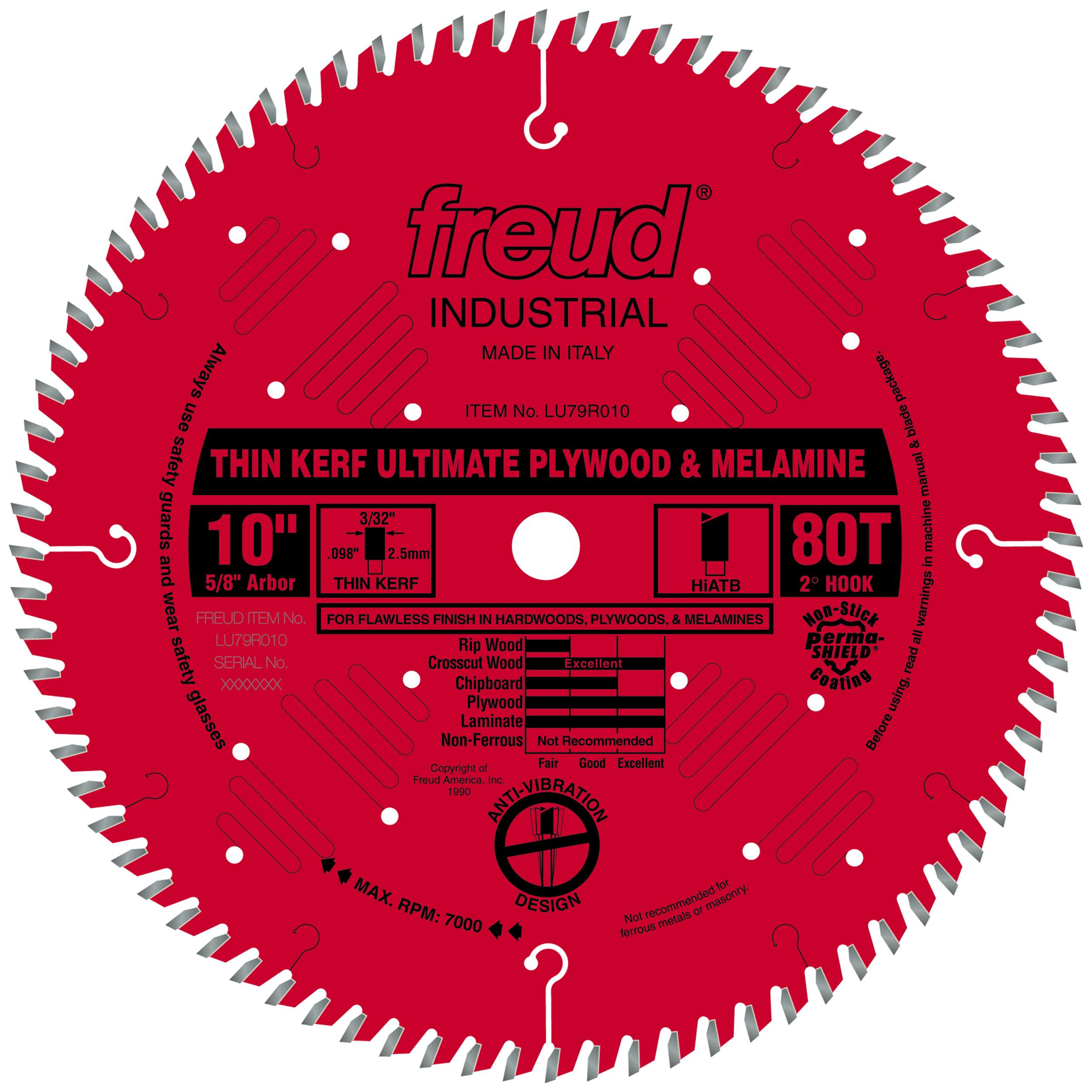 LU79R010 Circular Saw Plywood/Melamine Saw Blade 10