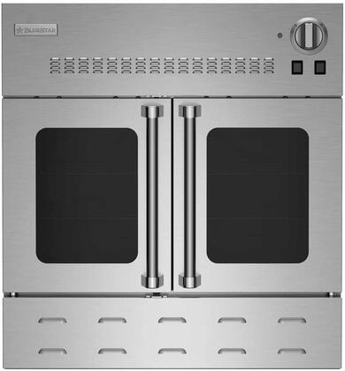BWO30AGSPLT 30 Built-In Single Gas Wall Oven with Clean Convection Oven  3 Full-Extension Oven Racks  Dual Halogen Lights  Heavy-Duty Control knobs