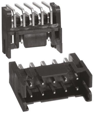 Hirose , DF11, 10 Way, 2 Row, Right Angle PCB Header (10)