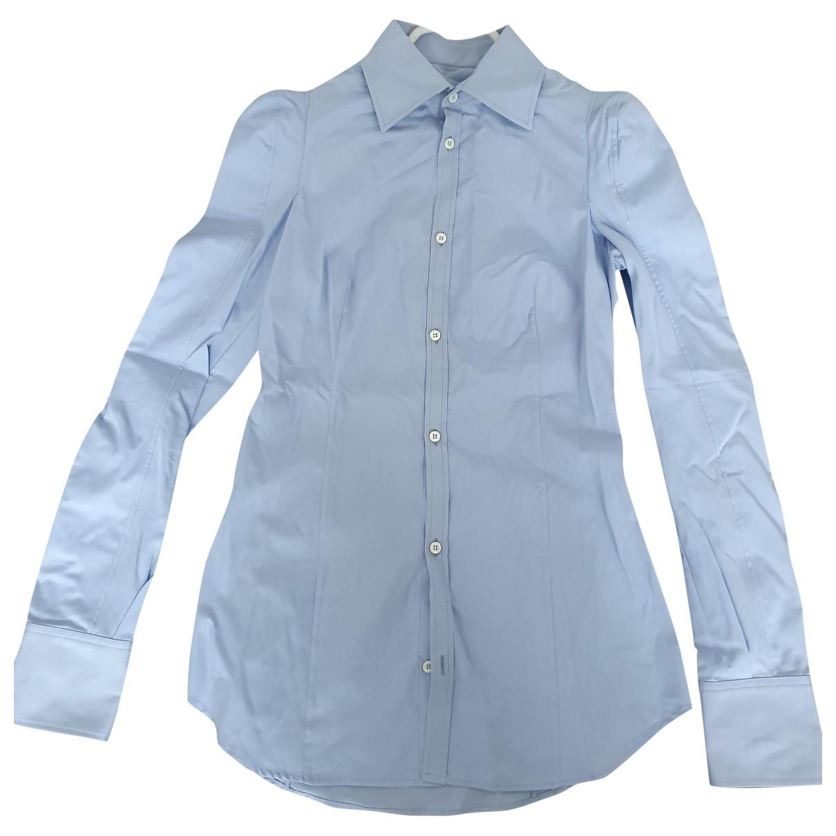 Dsquared2 \N Blue Cotton  top for Women 40 IT
