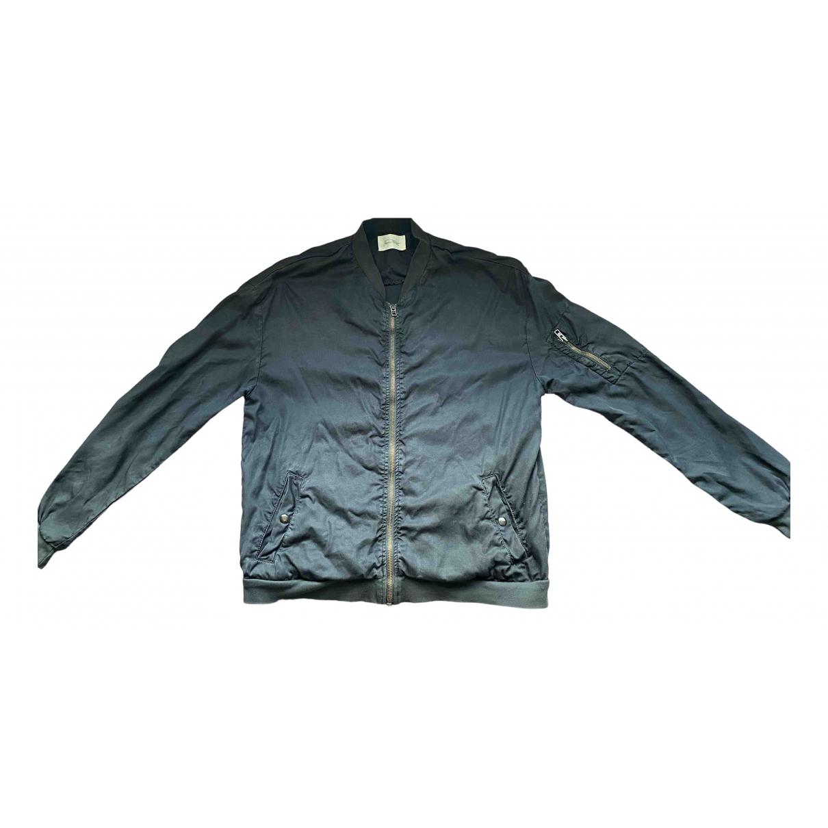 American Vintage N Black Silk jacket for Women S International