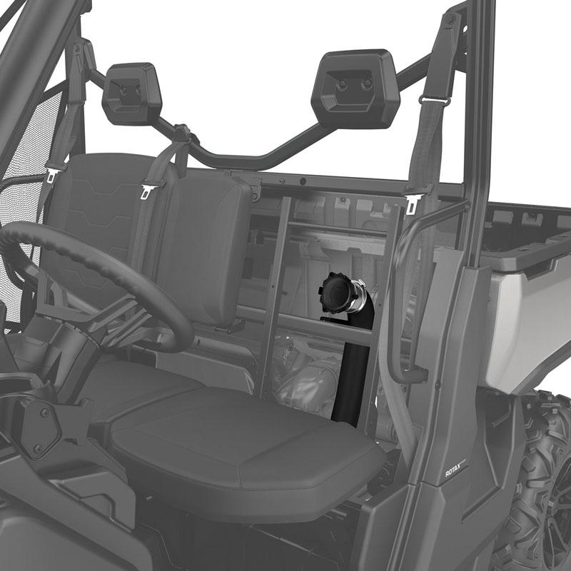 Can-Am CVT Air Intake Relocation Kit for Defender (except X mr models), Defender MAX
