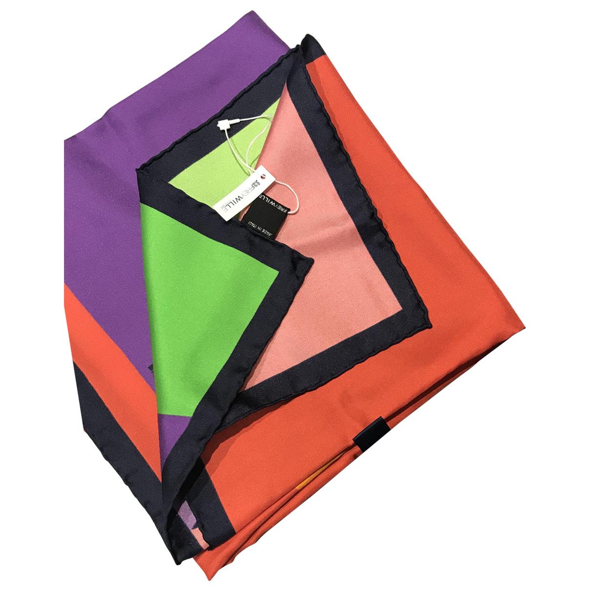 Frey Wille - Foulard   pour femme en soie - multicolore