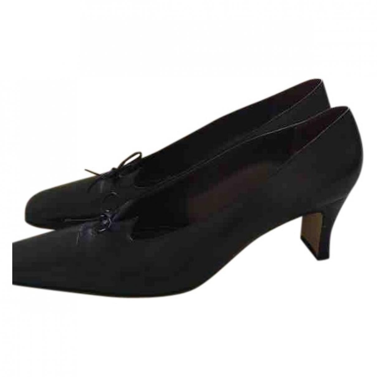 Russell & Bromley - Escarpins   pour femme en cuir - noir