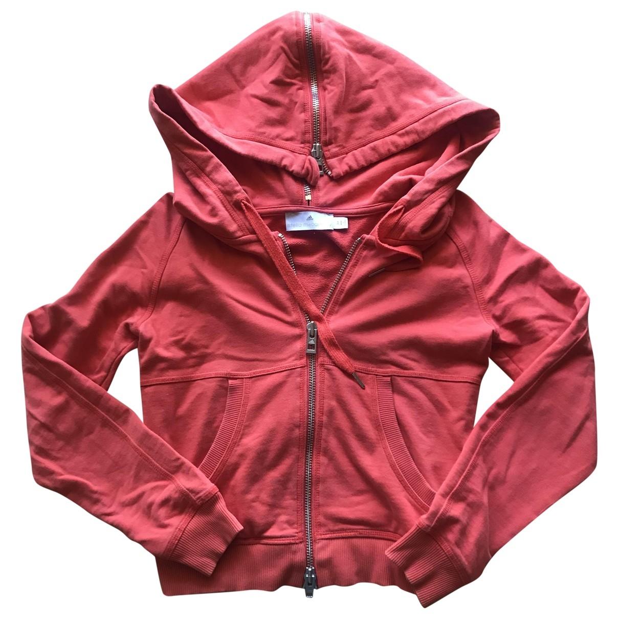 Stella Mccartney Pour Adidas \N Orange Cotton Knitwear for Women 36 FR
