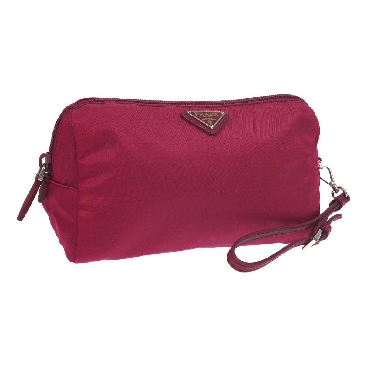 Prada \N Pink Cloth Purses, wallet & cases for Women \N