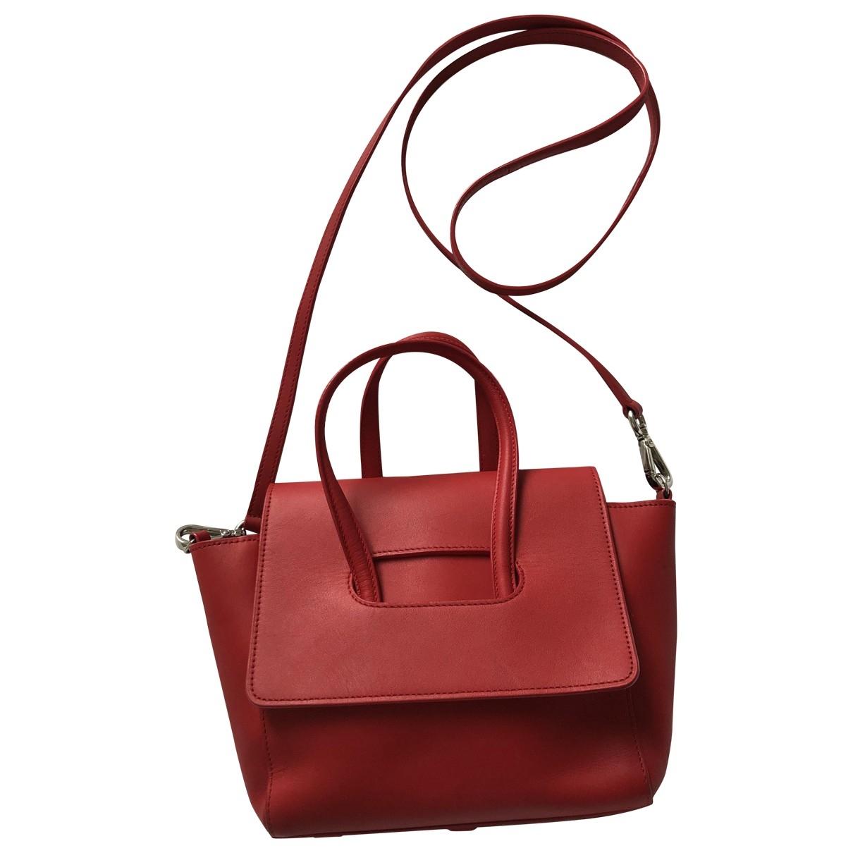 Maison Ullens \N Red Leather handbag for Women \N