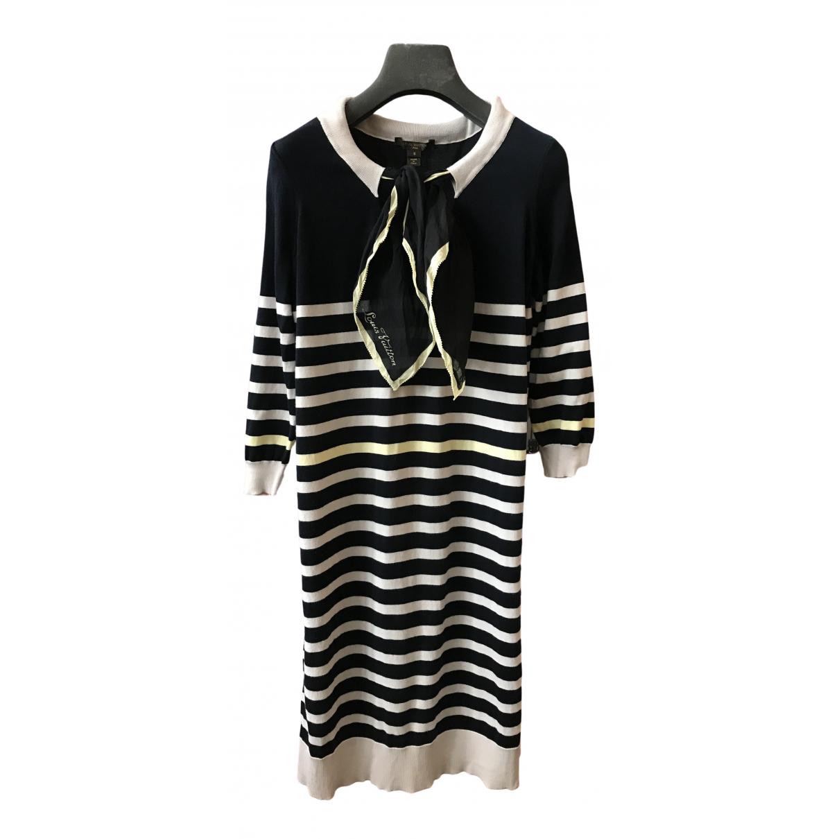 Louis Vuitton \N Multicolour Cotton dress for Women S International