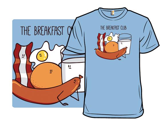 The Real Breakfast Club T Shirt