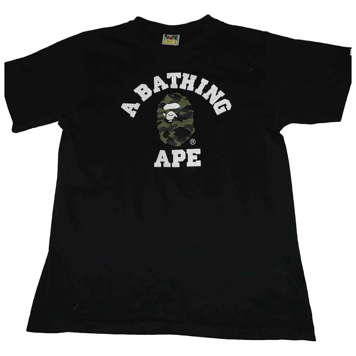A Bathing Ape \N T-Shirts in  Schwarz Baumwolle