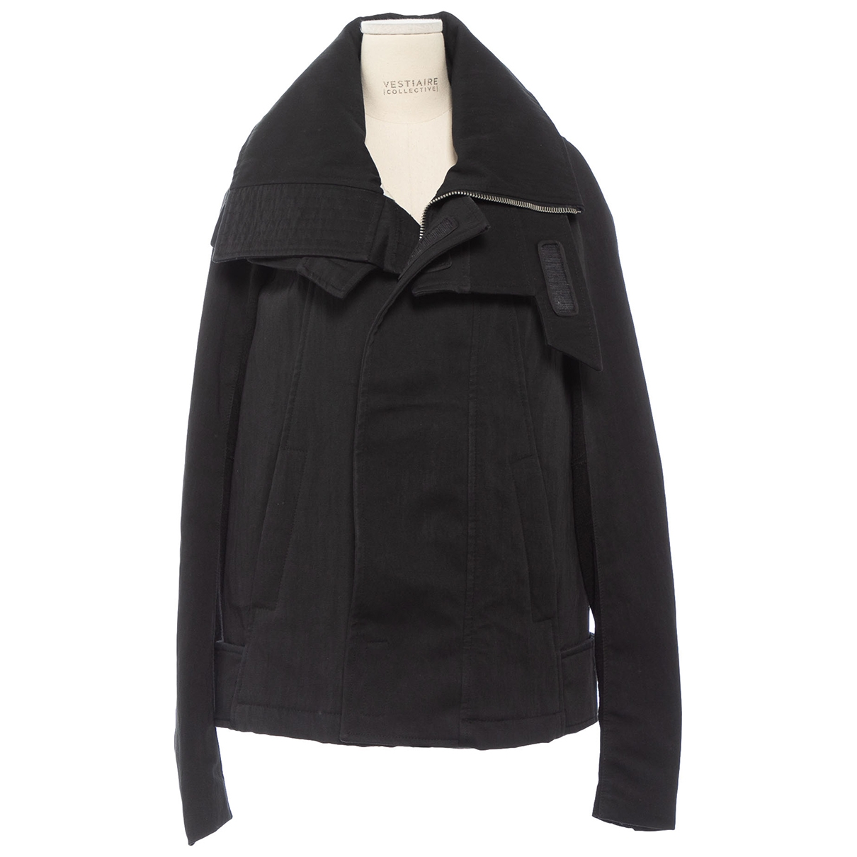 Rick Owens \N Black Cotton jacket for Women 38 IT