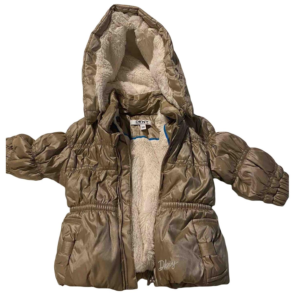 Dkny - Blousons.Manteaux   pour enfant - dore