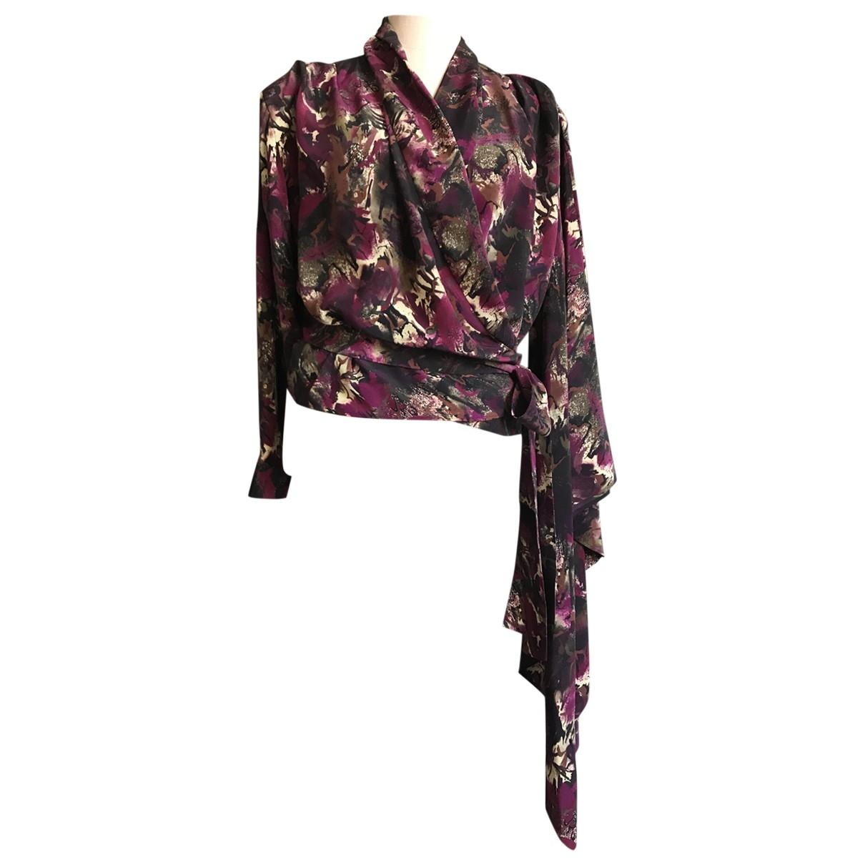 Balenciaga - Top   pour femme en soie