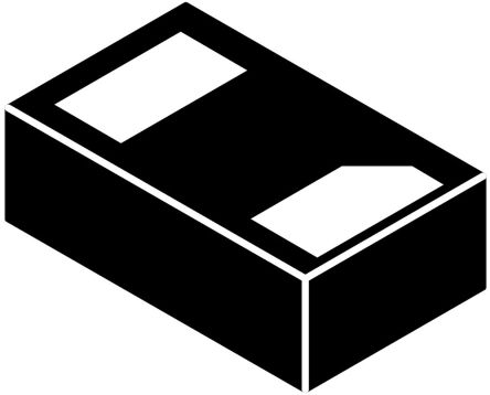 ON Semiconductor SZESD7462N2T5G, Bi-Directional ESD Protection Diode, 0.3W, 2-Pin X2-DFN1006 (8000)
