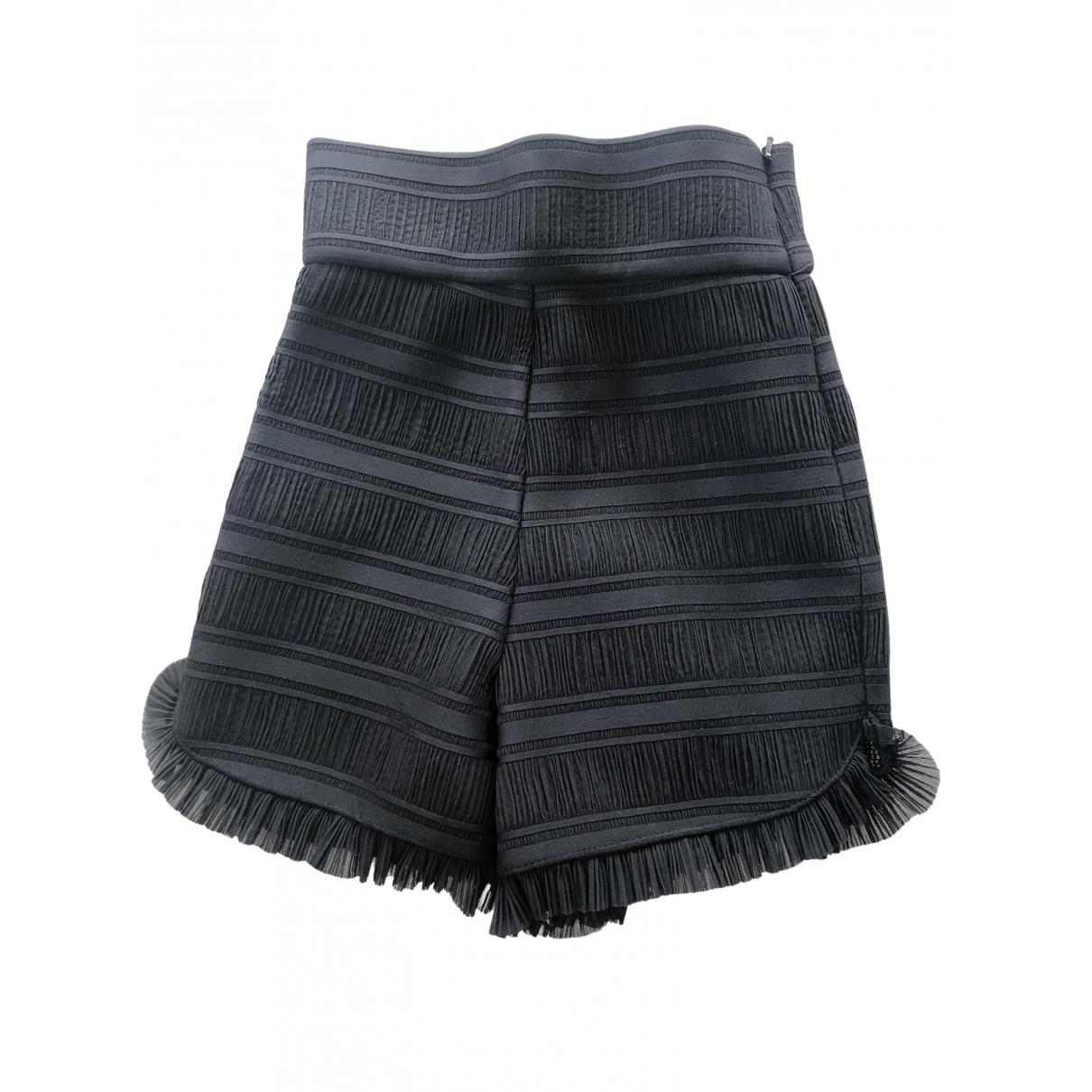Maje \N Black Shorts for Women 34 FR