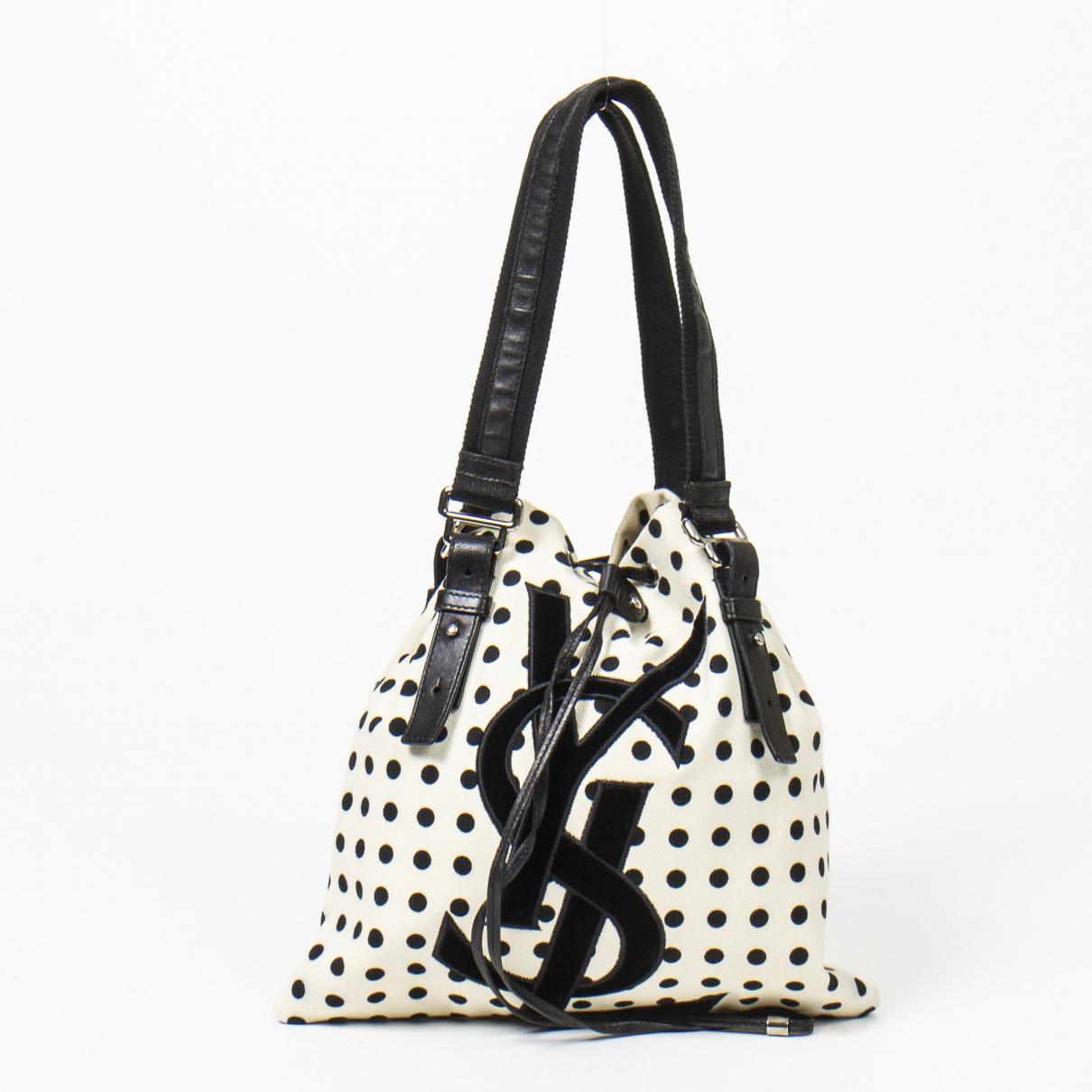 Yves Saint Laurent \N Handtasche in  Bunt Leinen