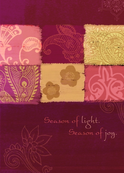 Diwali Cards Mail-for-Me Premium 5x7 Folded Card , Card & Stationery -Season of Light and Joy