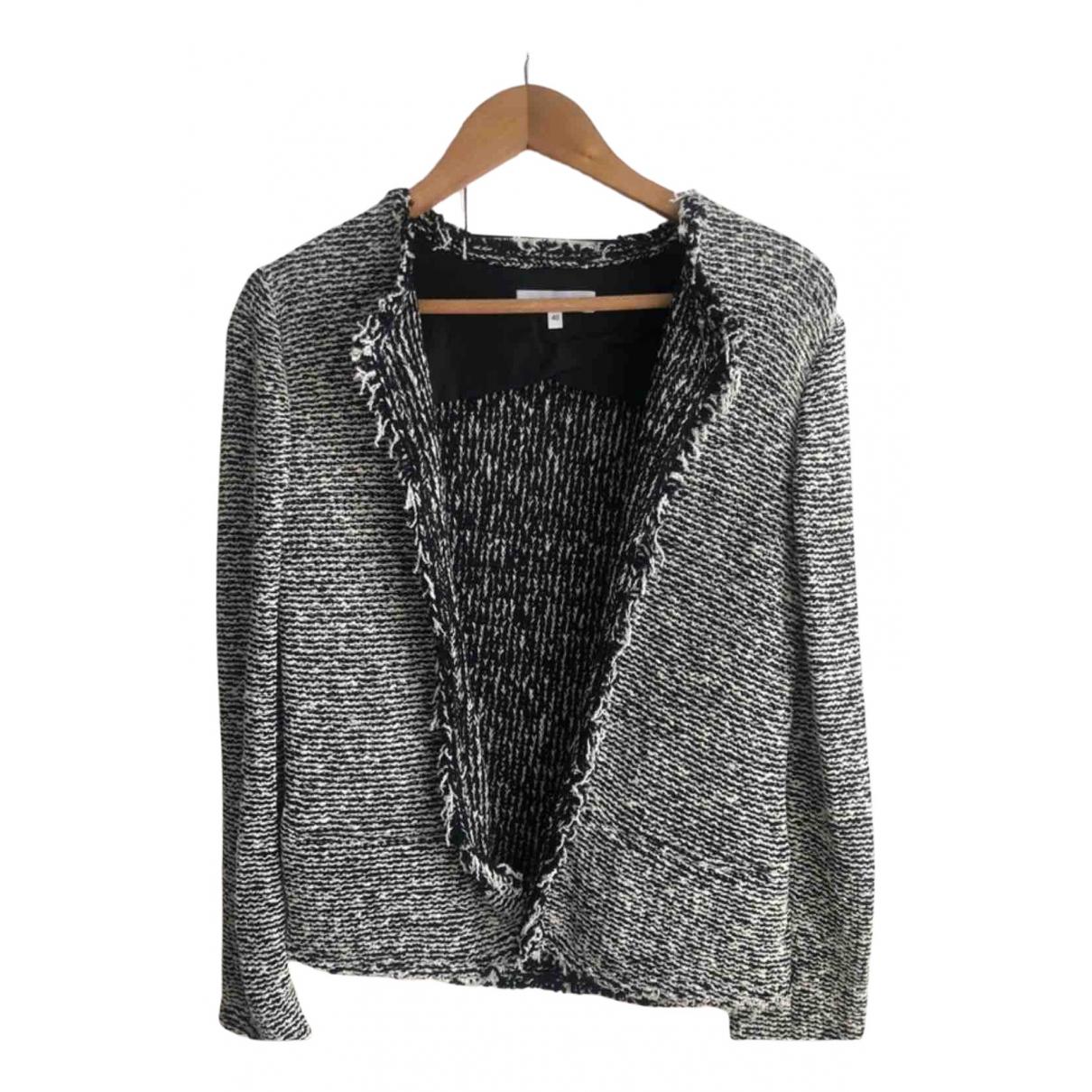 Iro N Black Cotton jacket for Women 38 FR