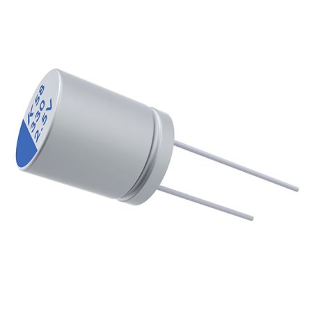 KEMET 680μF Electrolytic Capacitor 6.3V dc, Through Hole - A758KK687M0JAAE014 (500)