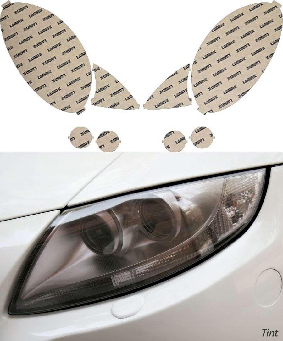 Mercedes R-Class 06-10 Tint Headlight Covers Lamin-X MB017T