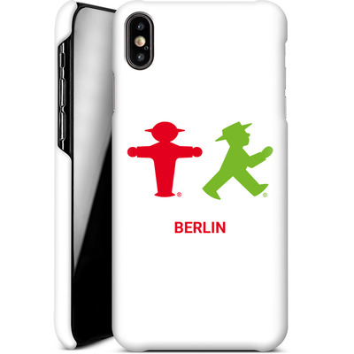 Apple iPhone XS Max Smartphone Huelle - Green and Red von AMPELMANN