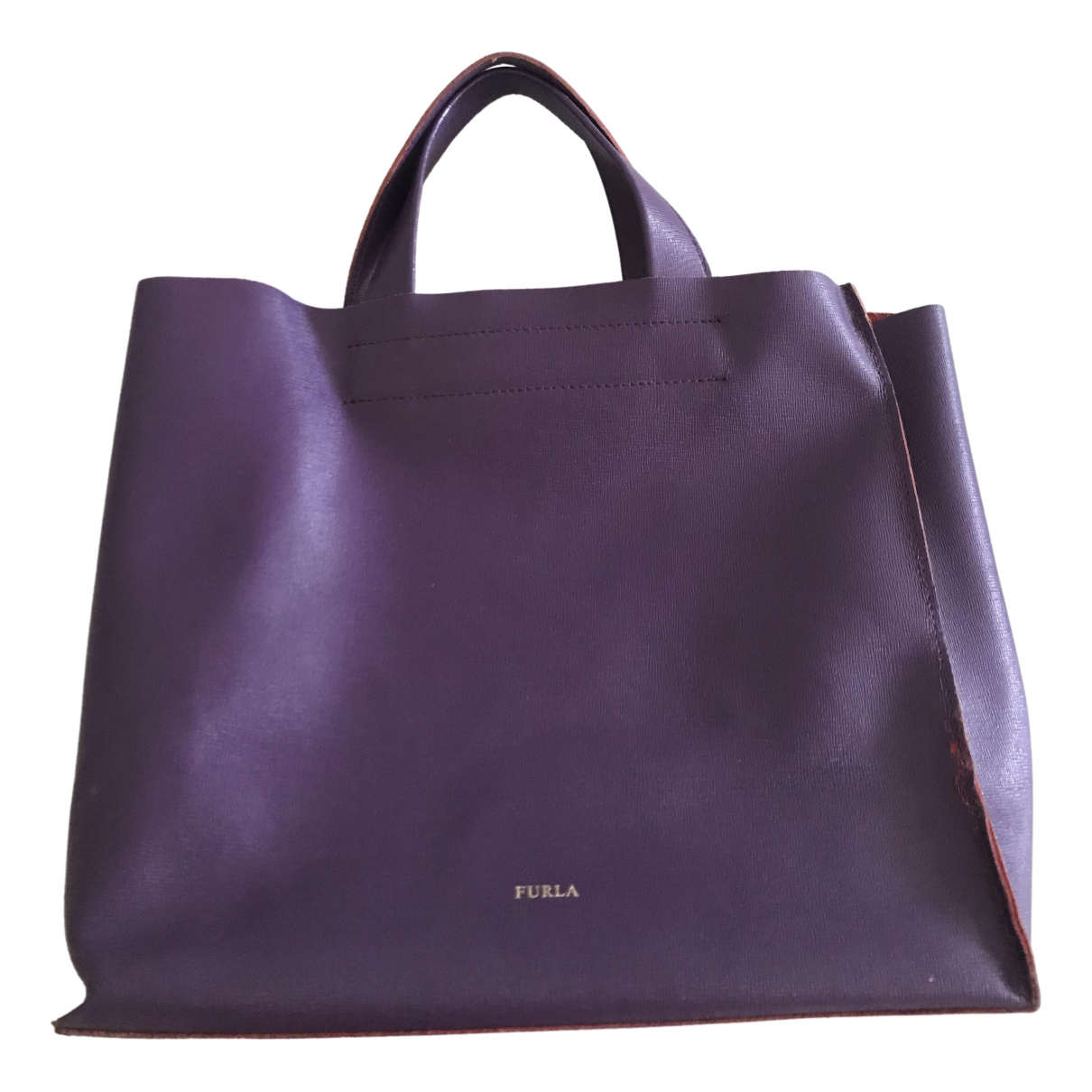Furla \N Purple Leather handbag for Women \N