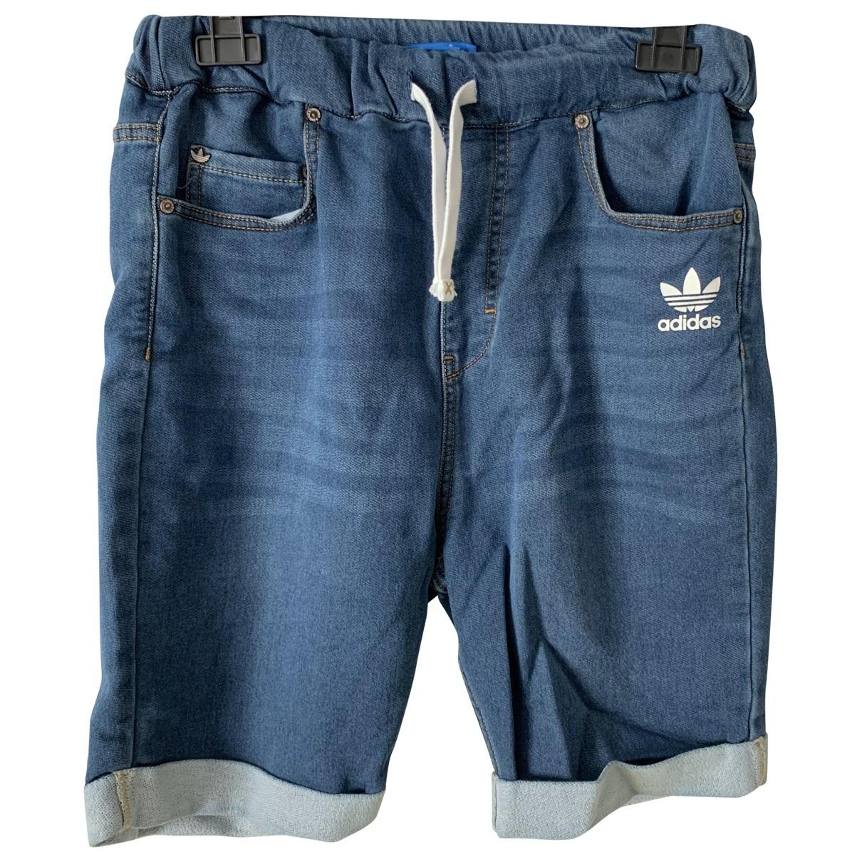 Adidas \N Shorts in  Blau Baumwolle