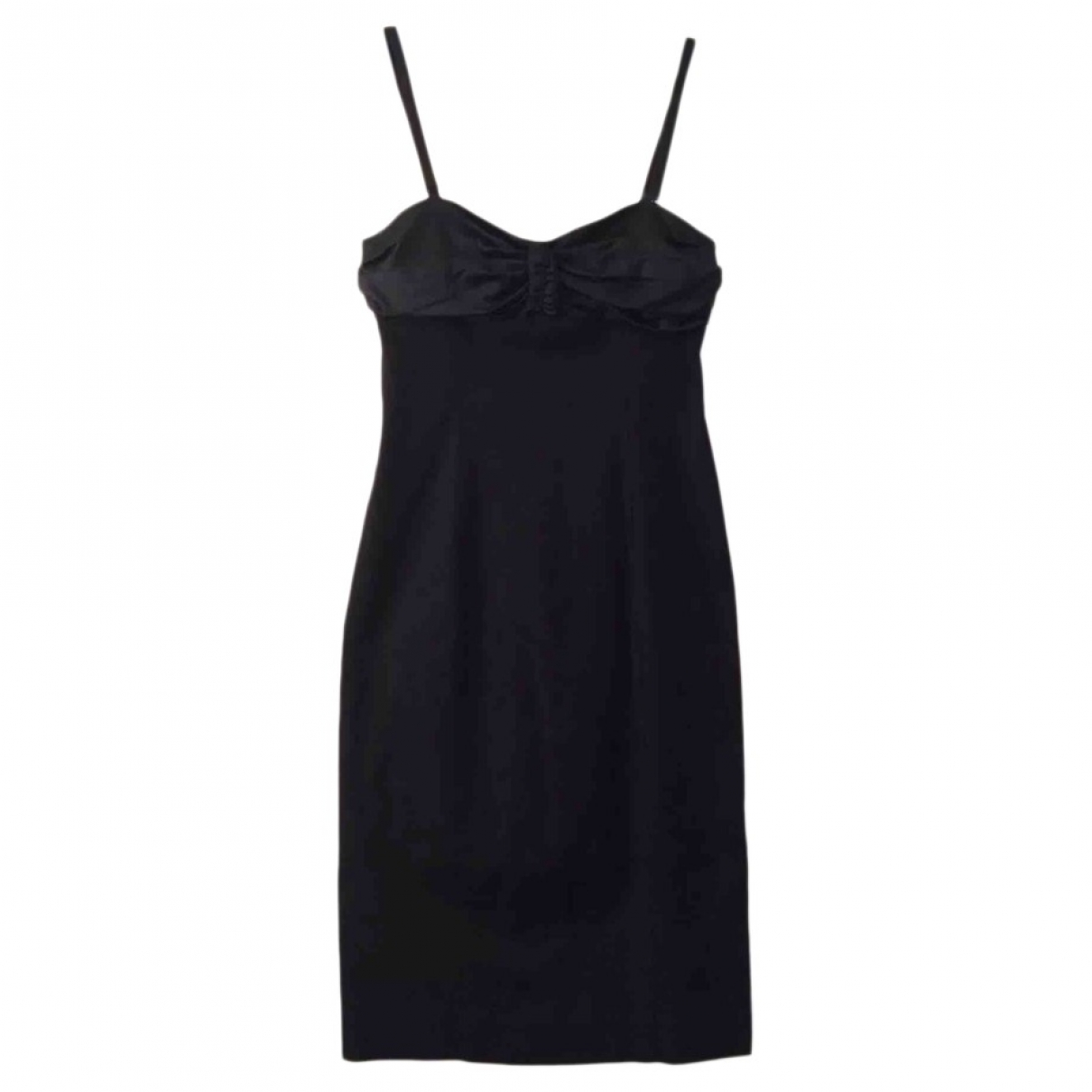 Pinko \N Black Cotton dress for Women 44 IT