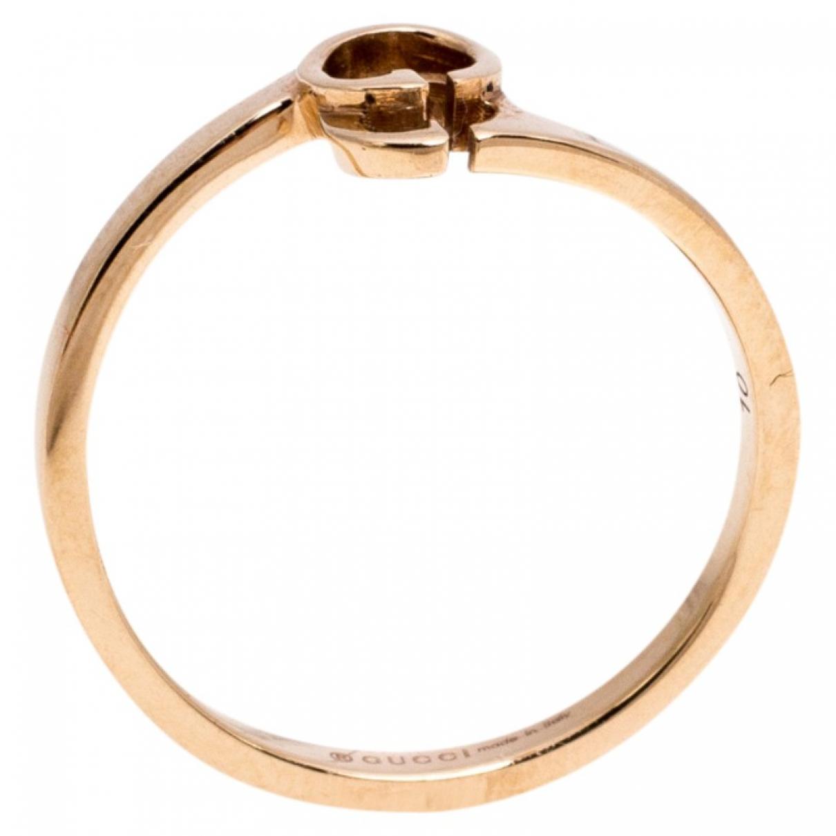 Gucci - Bague   pour femme en or rose - dore