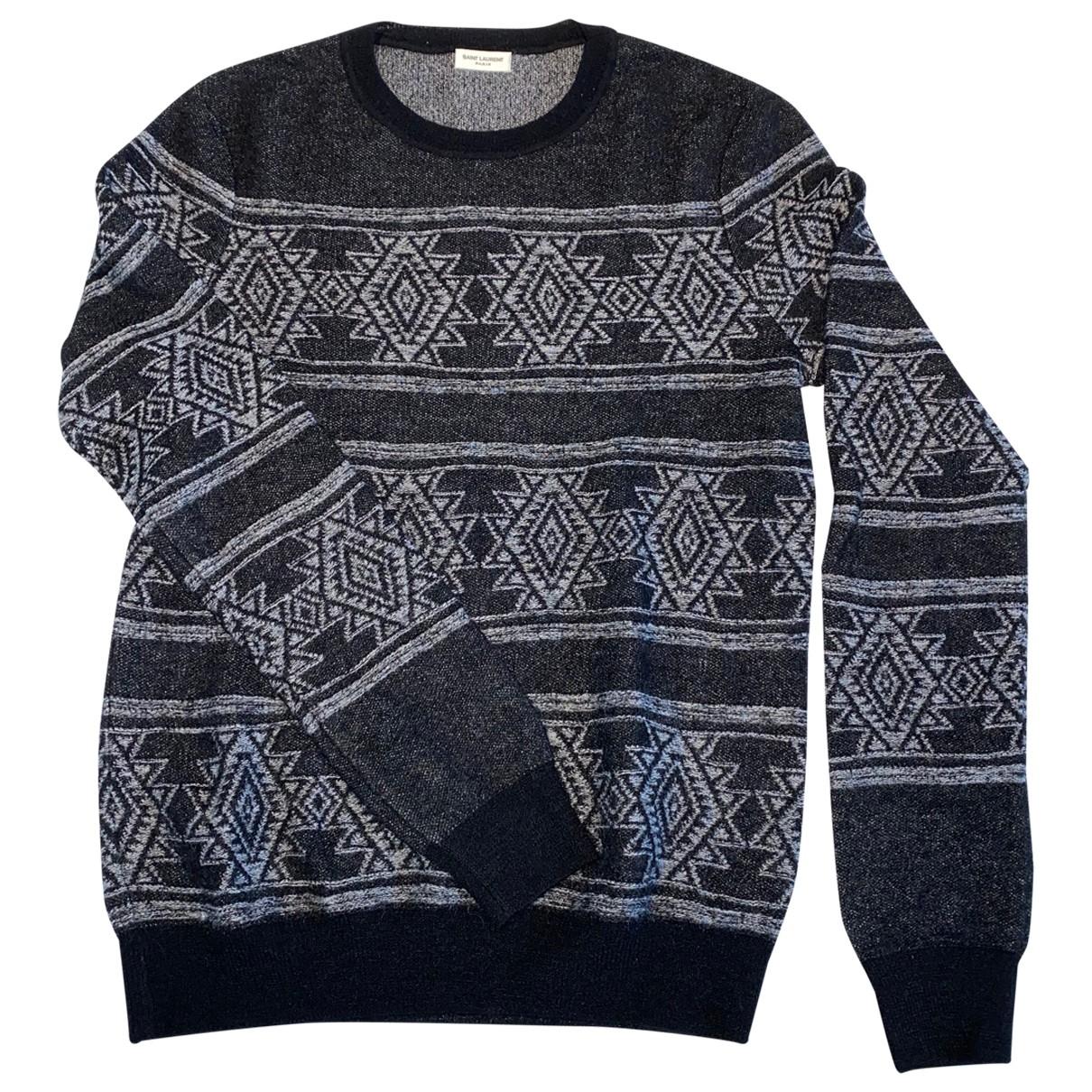 Saint Laurent - Pulls.Gilets.Sweats   pour homme en laine - noir