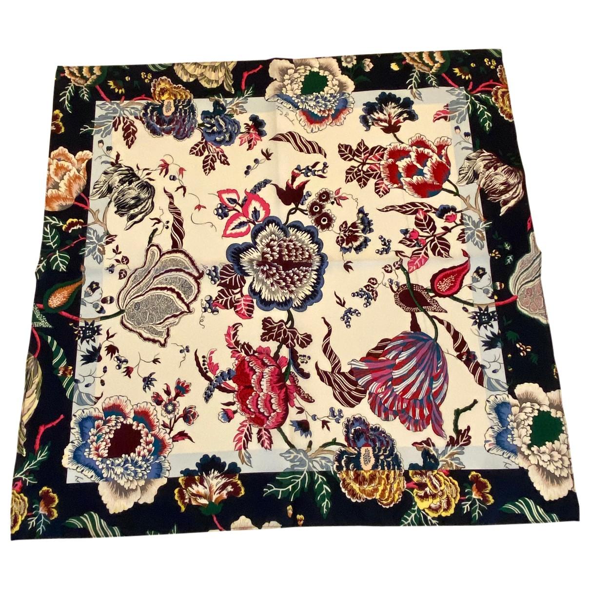 Tory Burch - Foulard   pour femme en coton - multicolore