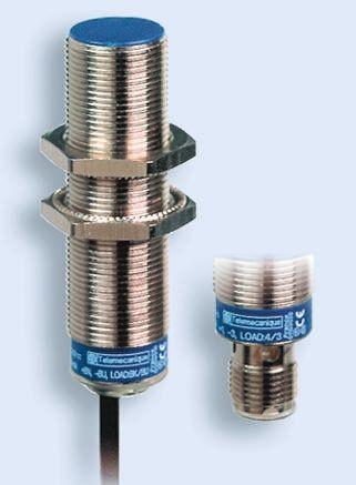 Telemecanique Sensors M30 x 1.5 Inductive Sensor - Barrel, PNP-NO Output, 10 mm Detection, IP69K, M12 - 4 Pin Terminal