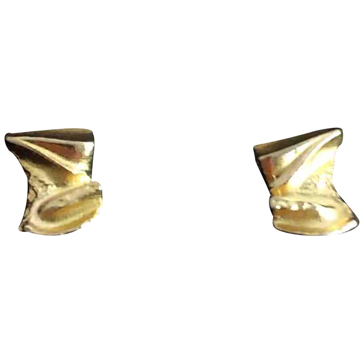 - Boucles doreilles   pour femme en or jaune - jaune
