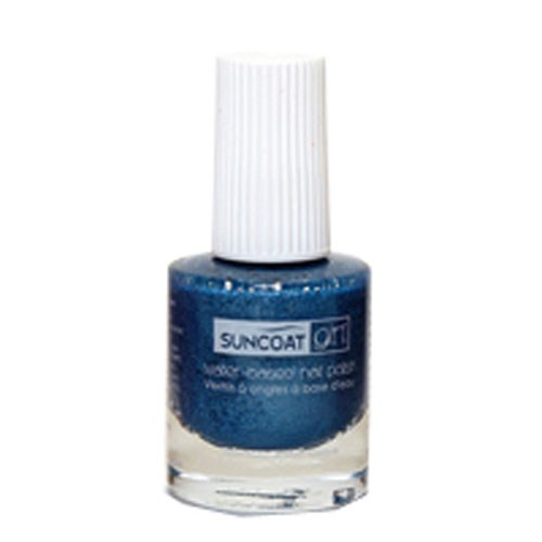 Nail Polish Mermaid Blue, 8 ml by Suncoat Products inc