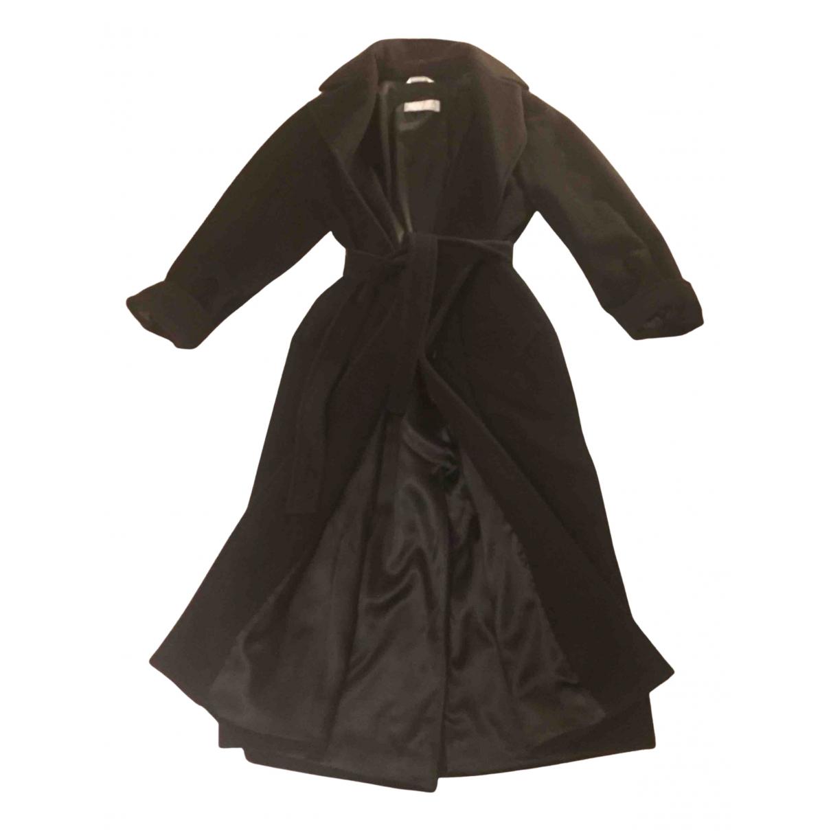 Max Mara - Manteau 101801 pour femme en laine - noir